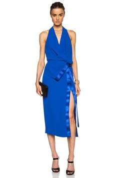 Image 1 of Dion Lee Safety Dress in Default Blue