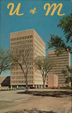 Campus Scene, University of Minnesota