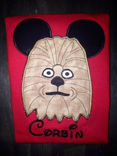 This is for your choice of one Star Wars Mickey Ears shirt. Stand out on your next Disney trip with matching family shirts. I can add a name