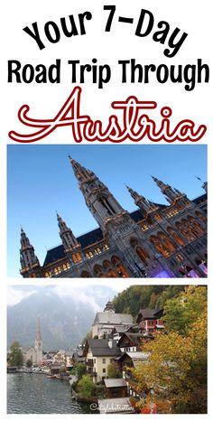 A 7 day raid trip through Austria from Vienna to Innsbruck