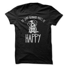 My Saint Bernard Makes Me Happy!