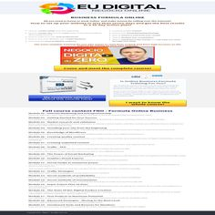 Eu Digital is a medium to work online and make money by selling over the internet!If your goal is to earn extra income while you are free surfing the internet visit our site.