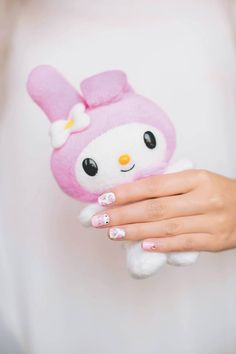"""Learn how to do your own supercute Sanrio nail art with """"Hello Kitty Nail Art"""" -- available now on Sanrio.com, AbramsBooks.com, and at select bookstores near you!"""