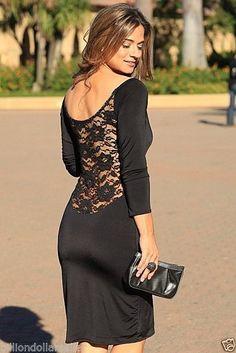 Sexy Black Lace Argentine Tango Dress Ladies Women's Fashion