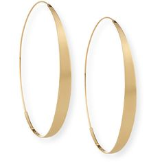 Lana Bond XL Glam Magic Hoop Earrings ($995) ❤ liked on Polyvore featuring jewelry, earrings, gold, 14k jewelry, yellow gold earrings, 14k gold jewelry, 14 karat gold jewelry and lana jewelry