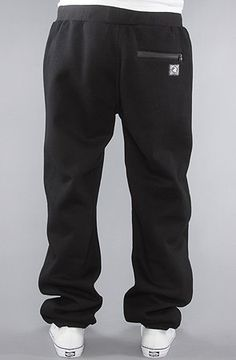 Crooks and Castles The Decadent Sweatpants in Black,Pants for Men