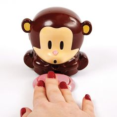 Monkey nail dryer~ $12.50  I think this is so cute