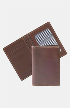Boconi 'Bryant - Slim' RFID Blocker Leather Card Case available at #Nordstrom