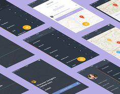 Firefly iOS App by Christine Isslander, via Behance