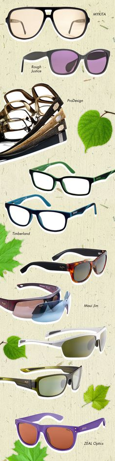 Go Eyewear Green: http://eyecessorizeblog.com/?p=5057