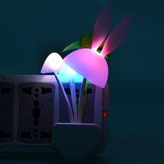 Smart Light Control Mushroom LED Night Light-1.97 and Free Shipping  GearBest.com