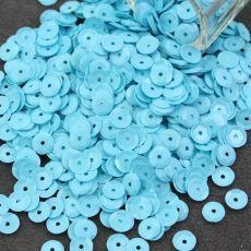 Cekiny łamane pastelowe błękitne [ 5g ] Sequins, Stone, Diy, Rock, Bricolage, Stones, Do It Yourself, Batu, Homemade