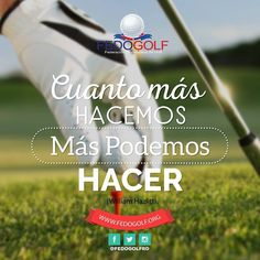 Siempre  puedes  volverte  mejor.#fedogolfRd #golf #instagolf #swing #grass #green #field #putter #hoyo #RD #DominicanRepublic #sport #deporte #Backspin #bola #bola #fairway #draw #driver #finish #victory #win #hard #fight #aprende #motivate #triunfa #determinacion #pasion #happy #jueves