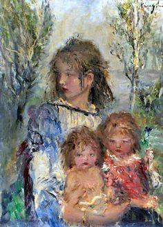 "Aurél Náray, ""Mother and Children"""