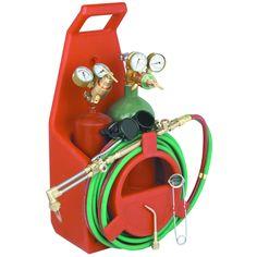 Portable Torch Kit with Oxygen and Acetylene Tanks Welding Classes, Welding Jobs, Welding Projects, Metal Projects, Welding Ideas, Art Projects, Project Ideas, Shielded Metal Arc Welding, Metal Welding