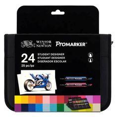 Novidade! Estojo de Marcadores ProMarker 24 Cores Designer