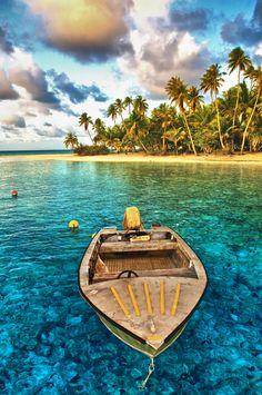 Rangiroa, Tahiti -  luxury vacation, beach house, luxury travel, beach home