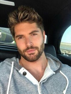 Finding The Best Short Haircuts For Men Nick Bateman, Best Short Haircuts, Haircuts For Men, Hair And Beard Styles, Hair Styles, Scruffy Men, Hairy Men, Cool Hairstyles For Men, Jolie Photo