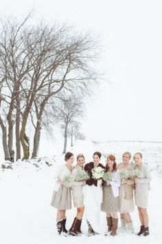 15 bridesmaids looks we love: http://www.stylemepretty.com/2014/05/20/15-bridesmaid-looks-we-love/ | Photography: http://paperantler.com/paper_antler/home.html