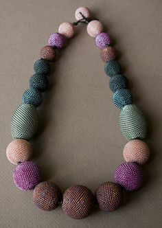 Limited Edition Knotted Dots Necklace Hadrian's von tqbdesigns