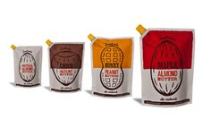 Justin's Nut Butter Packaging by Andy Stewart