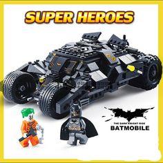 Lego Batman, Joker Batman, Superhero, Superman, Building Blocks Toys, Batcave, Batmobile, Geek Culture, Cool Toys