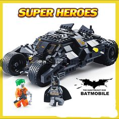 Batman Bulding Blocks and Batmobile  $41.84 and FREE shipping  Get it here --> https://www.herouni.com/product/batman-bulding-blocks-and-batmobile/  #superhero #geek #geekculture #marvel #dccomics #superman #batman #spiderman #ironman #deadpool #memes