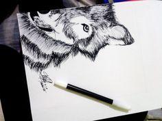 WOLF #ART #SKETCH