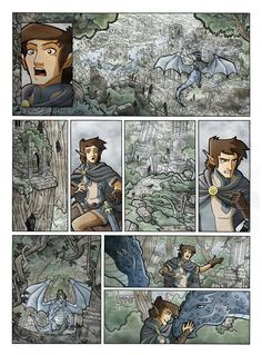 Inheritance_Amid the Ruins_Color by Eumenidi.deviantart.com on @deviantART eragon inheritance