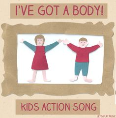 I've Got A Body is a lively action song perfect for toddlers to explore all of the different actions and sounds that they can make with their bodies. Gross Motor Activities, Movement Activities, Music Activities, Preschool Activities, Movement Songs For Preschool, Infant Activities, Body Preschool, Preschool Music, Preschool Action Songs