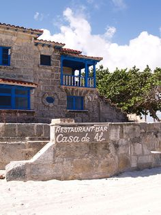 Restaurant Casa de Al, Varadero Cuba. We ate here and shared a cigar on the patio! Oh The Places You'll Go, Great Places, Places Ive Been, Places To Visit, Places To Travel, Varadero Cuba, Cuba Travel, Travel Abroad, Cuban People