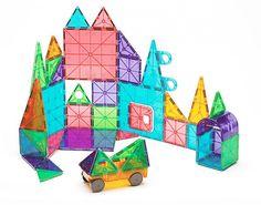 Magna-Tiles® Clear Colors 48 Piece DX Set   MagnaTiles®