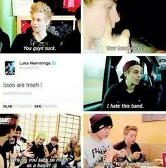 Why have haters when you have Luke Hemmings