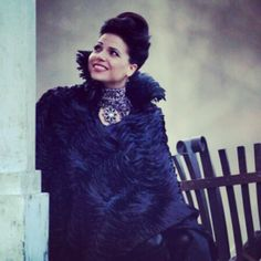 Evil Queen Regina bts episode 13