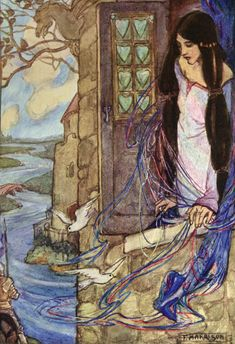 Elaine  by F.Harrison