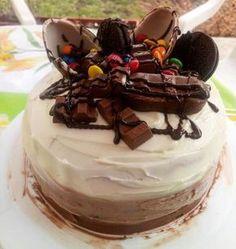 Háromcsokis torta