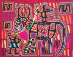 I first became interested in molas, the artwork of the Cuna Indians, in 1963 while I was working at JL Hudsons as an interior designer. There