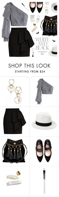 """""""new contest 🏆 (view description)"""" by jesuisunlapin ❤ liked on Polyvore featuring Luv Aj, Zimmermann, Yves Saint Laurent, House of Lafayette, Miu Miu, Vetements, Herbivore and Trish McEvoy"""