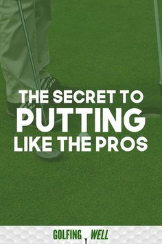 Golf Tips Putting problems? Want to know how to putt better? Here's the secret to putting like the pros. If you putt better your whole golf game gets better. Check out these golf tips to lower your score and your handicap. Chipping Tips, Golf Chipping, Golf Push Cart, Golf Score, Golf Putting Tips, Golf Party, Golf Instruction, Golf Exercises, Golf Tips For Beginners
