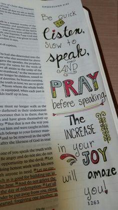 Ephesians 4:29-32 - Prismacolor Premier colored pencils
