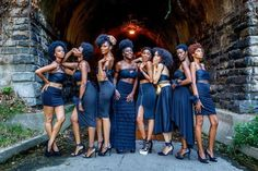 The Shades Beauty Photo Series Explores Ying And Yang Of The Black Woman And Its…