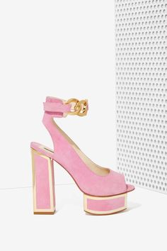 Kat Maconie Maya Suede Platform | Shop Shoes at Nasty Gal!