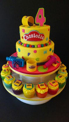 Play-doh themed birthday