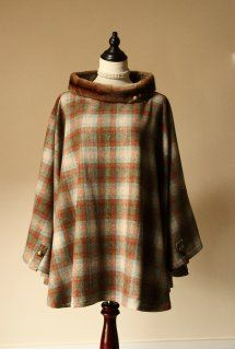 Harriet Hoot Harris Luxury Harris Tweed Capes