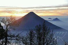 Beautiful, volcan de agua, guatemala