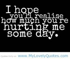 Sad Quotes | hope you will realise short sad quotes - My Lovely Quotes