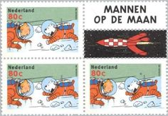 Tintin postal stamp - it's not only Belgique that fond of Tintin and his league of characters:)