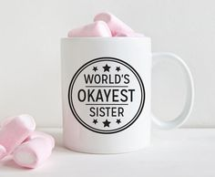 A mug for a sister who's kinda lukewarm. | 23 Perfect Things For Sisters Who Are Also Besties