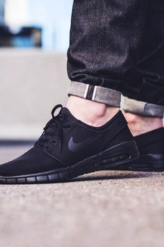 Nike Sb Shoe Janoski Max Black