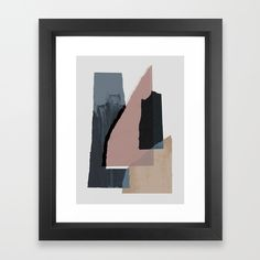 Buy Pieces 2 Framed Art Print by maboe. Worldwide shipping available at Society6.com. Just one of millions of high quality products available.